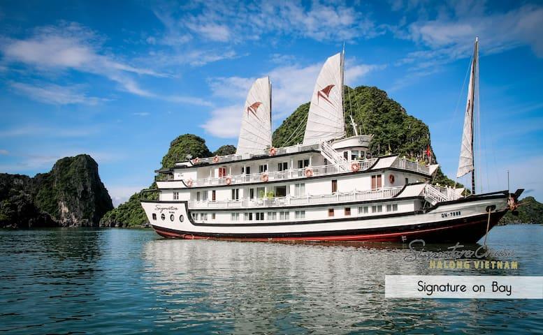 2 Days/1 Night Signature Cruise 5* - Thành phố Hạ Long - Cabin
