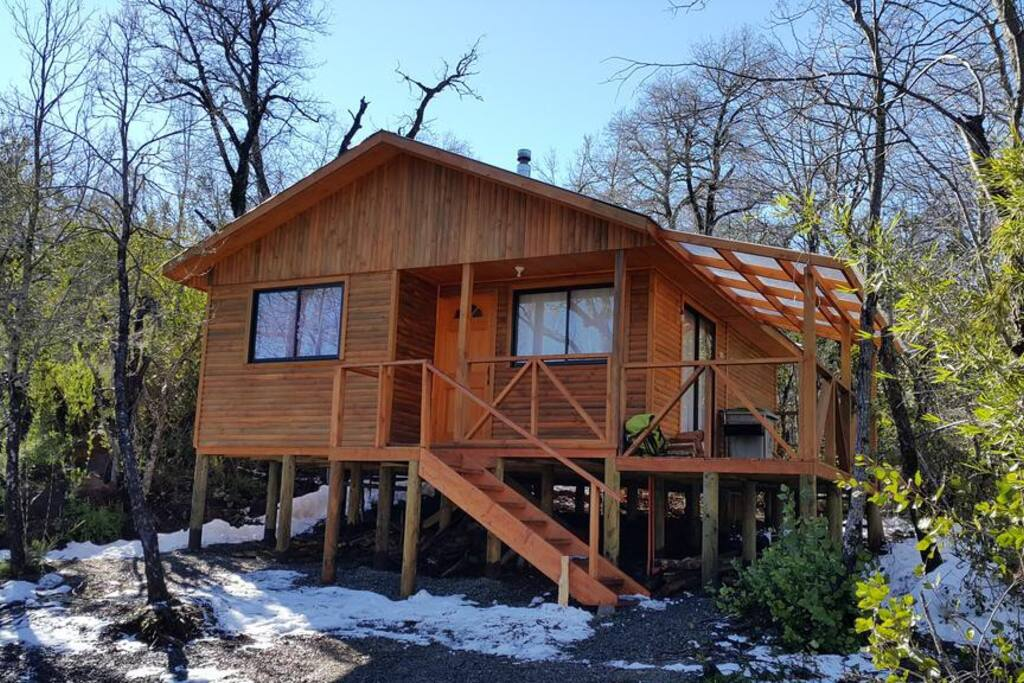 Cabaña N1: exterior