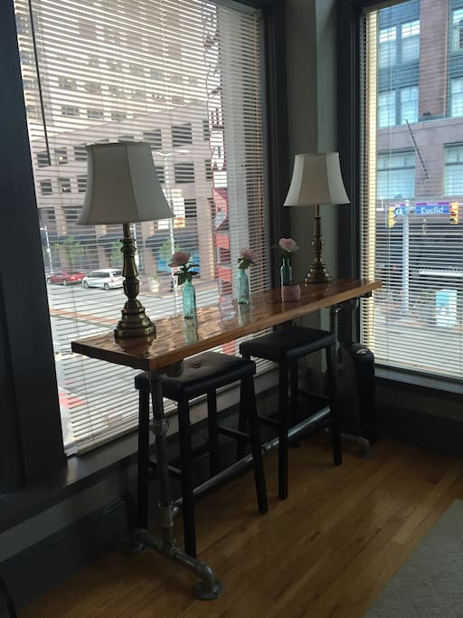 Corner Bar/Work Space
