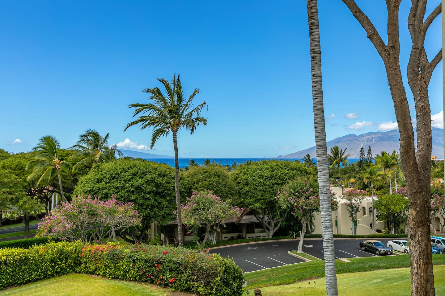 Ocean View from the Lanai of Palms at Wailea #1604
