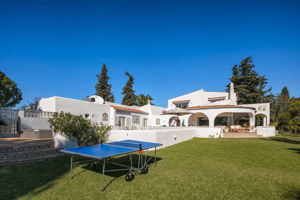 Villa and table tennis