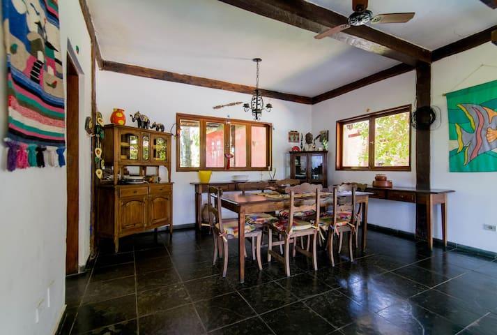 Sala de jantar Casa A
