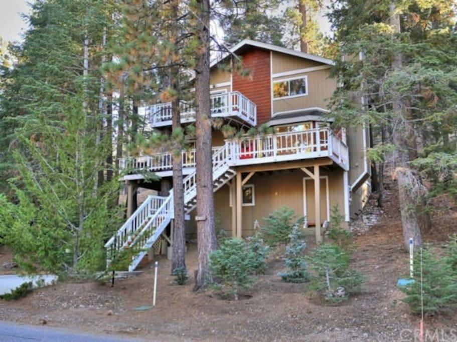 Perfect moonridge getaway cabins for rent in big bear Big bear lakefront cabins for rent