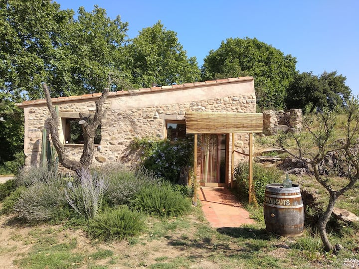 Charming farm cottage near our organic cellar!