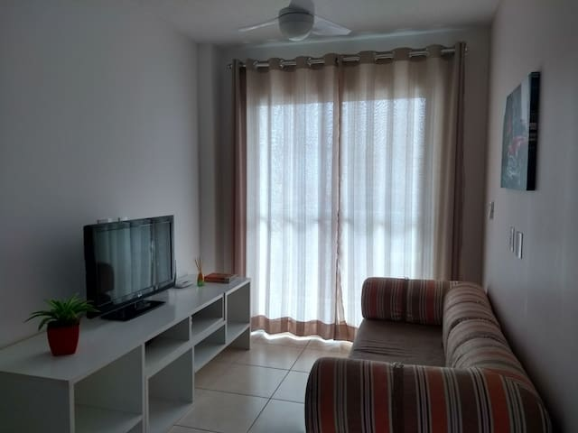 full apartment in Praia Grande - 50m far beach