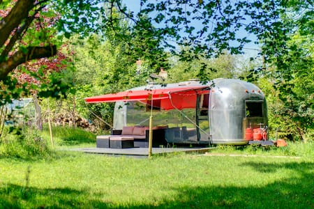 Glamping Retro American Airstream - Falmouth