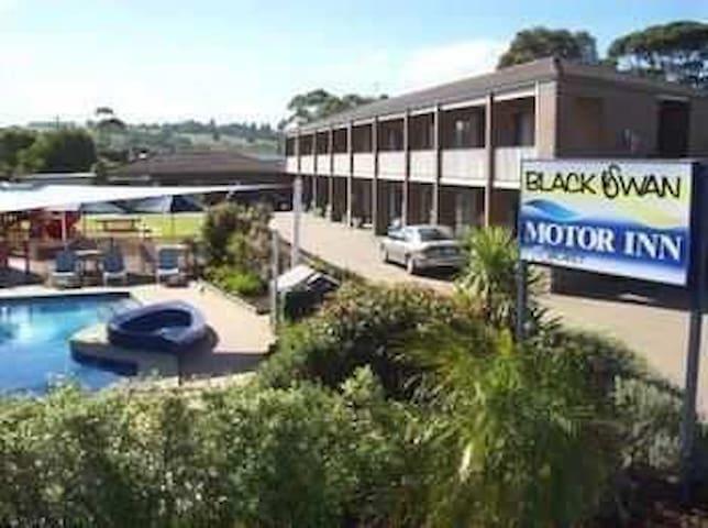 Black swan motor inn 黑天鹅公寓酒店