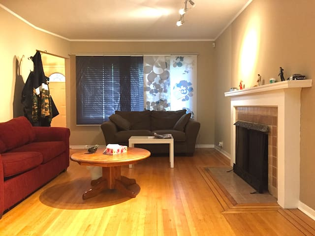 Living in west point grey : deluxe double room - Vancouver - Huis