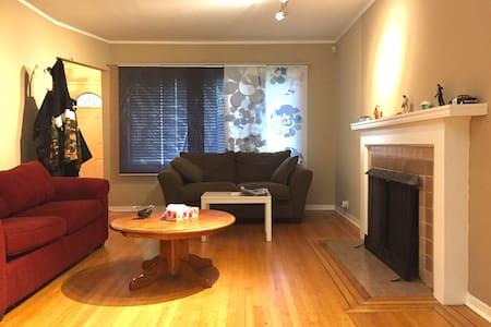 Living in west point grey : deluxe double room - 溫哥華