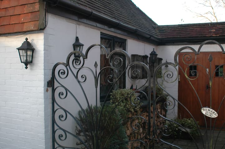 A modern Annex, attached to Tudor House