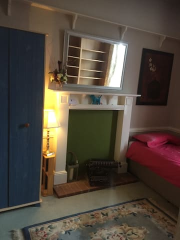 Delightful single room in a comfortable flat.
