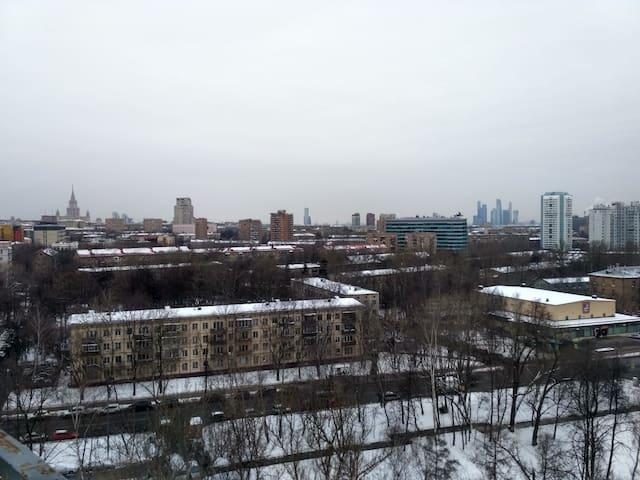 Nice apartment only 7 km from Luzhniki stadium