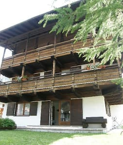 Cèsa Ziria Ample comfortable with garden and wi-fi - Campitello di Fassa