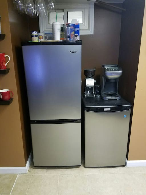 More fridge space than you could ever use...