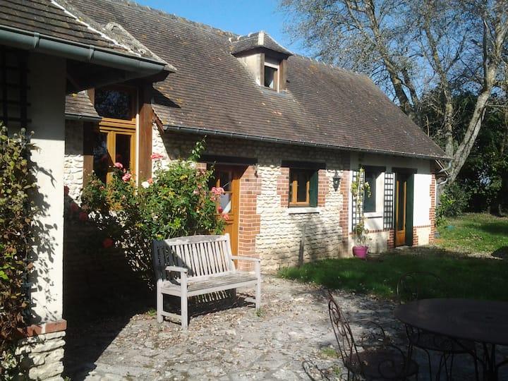 Cottage/6 pers à 20 mn de Giverny et Les Andelys