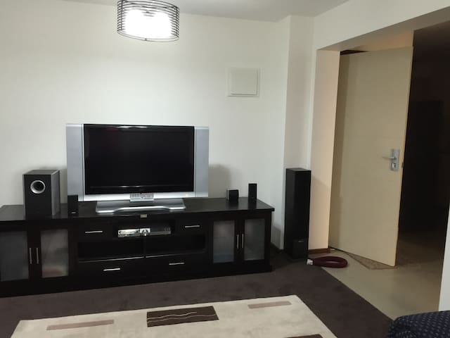 A fully furnished one bedroom apartment