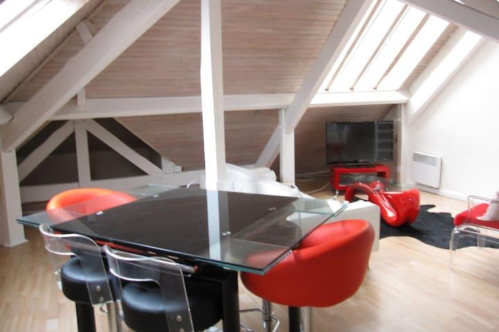 Grand T3 2 chambres centre - Biarritz - Apartamento