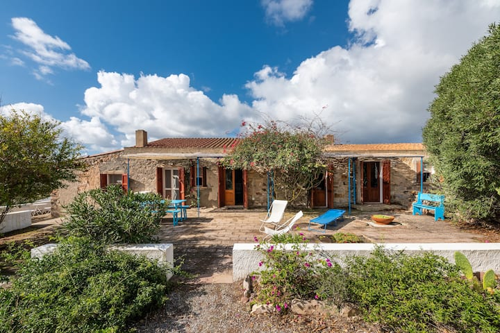 "Charming Holiday Home ""Dimora tipica Carlofortina"" with Sea View, Mountain View & Terrace; Parking Available"