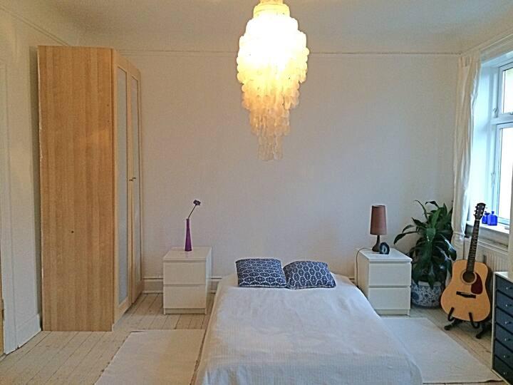 Big charming bedroom