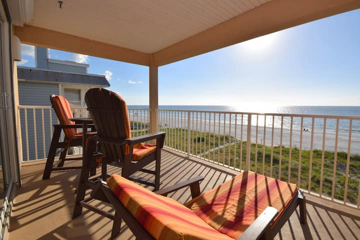 Beach Front Condo 401 at Ocean Way Indian Rocks