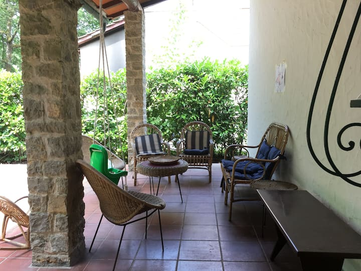 Villetta con giardino in Versilia per 10 persone