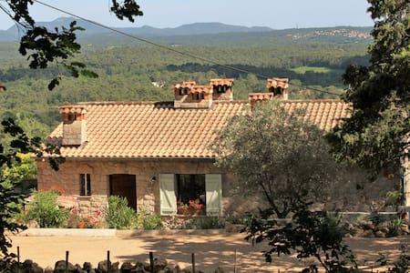 Maison - calme et vue superbe - Seillans - Haus