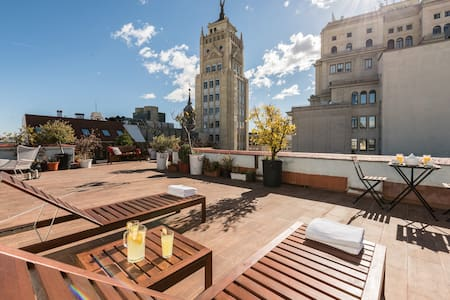 Exclusive penthouse in Madrid centre