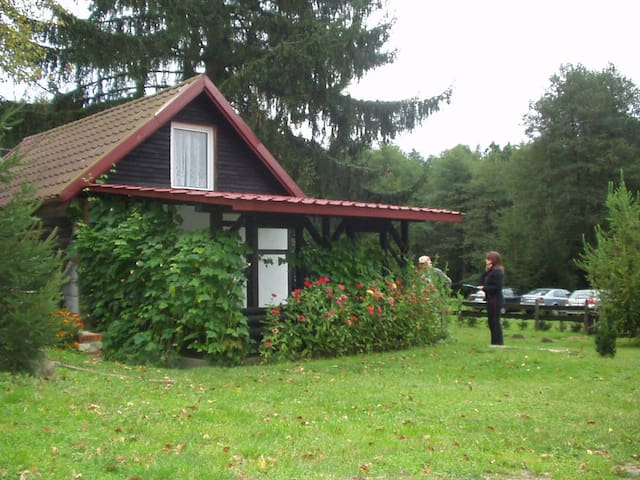 Domek nad jeziorem Smoleńsko i rzeką Gwdą