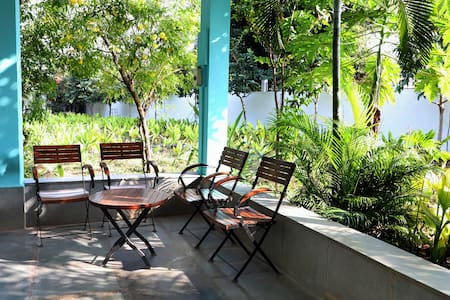 Aaramgah: a home in the woods, art & silk studio