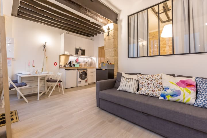 Cosy flat in Louvre area