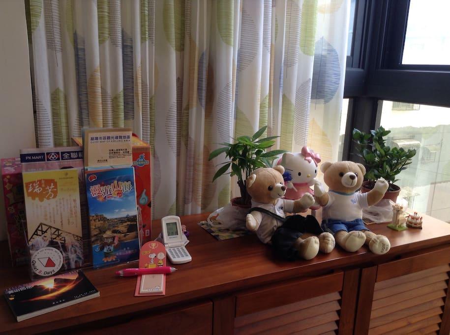 旅遊簡介,高中紀念熊