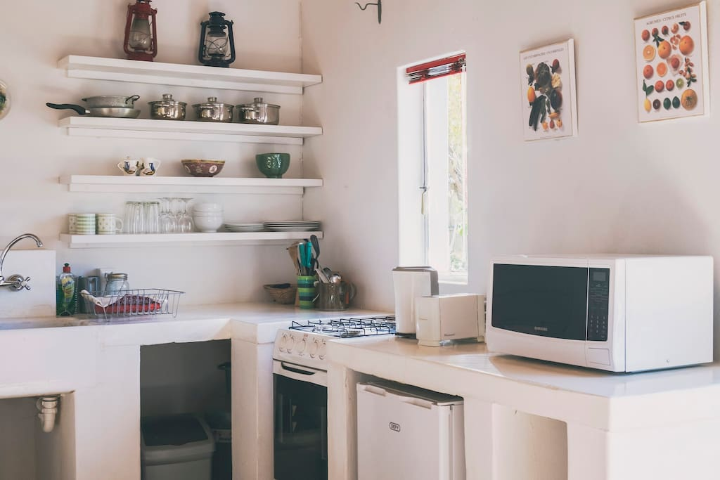 well equipped kitchenette