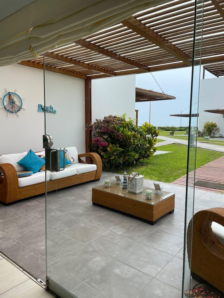 Casa de playa en el Mirador de Asia Km101.5