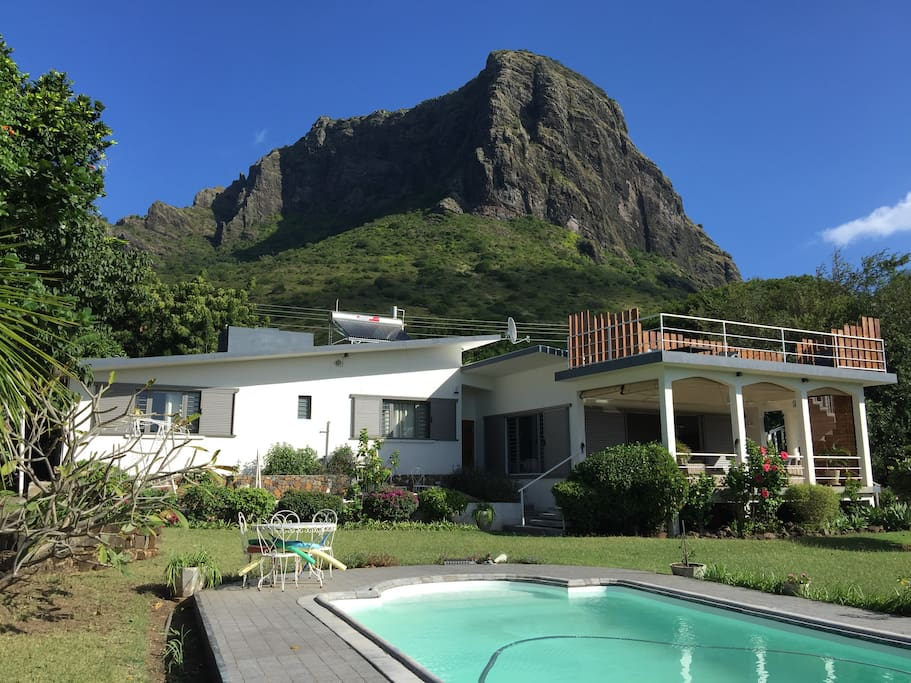Based at the foot of Le Morne Brabant mountain