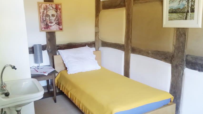 Schlafzimmer 3 mit einem Einzelbett