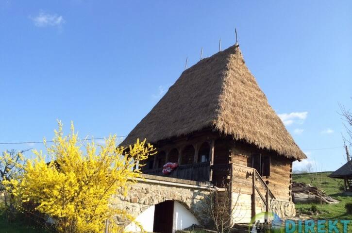 Casute traditionale romanesti !