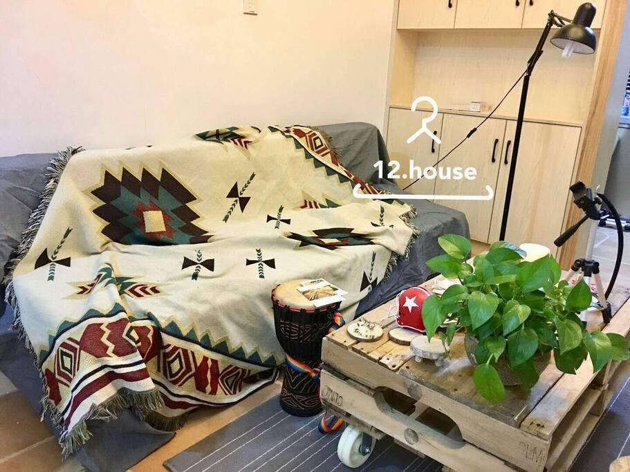 自己做的沙发