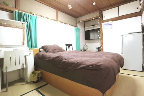 Private Room3★Kashiwa Sta 7min★WiFi★40inTV★Pick-up