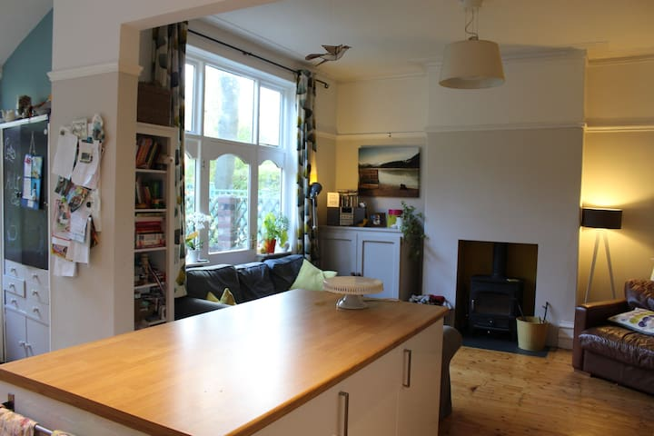 Edwardian family home 10 mins from City Centre - Manchester - Rumah