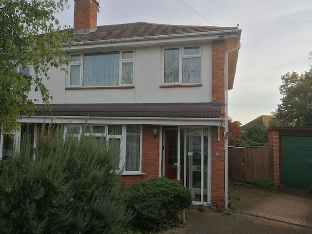 Family house on the edge of Hereford City Centre