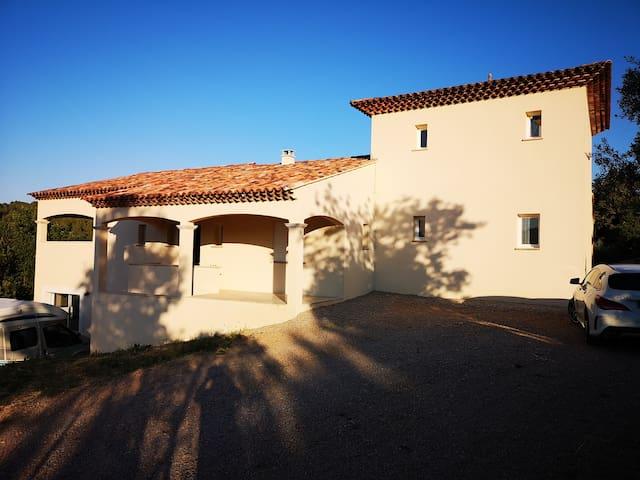 Sublime bas de villa GORGES DU VERDON
