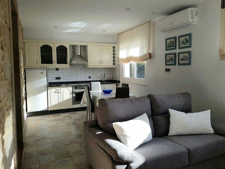 Apartamento  recien restaurado cerca de Santiago