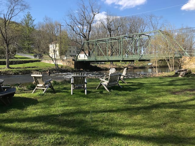 Private Cottage in Califon by River/Fishing/Bike