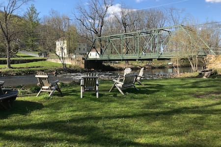 Cottage by River/Fishing/Bike- No Cleaning Fee!