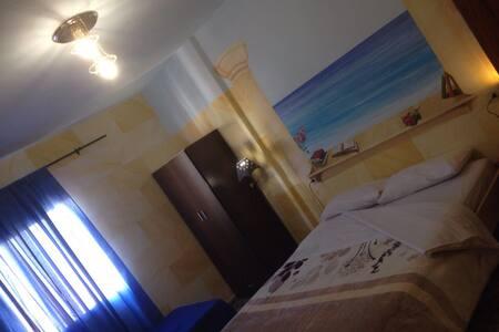 Unique Painted Apartment! (ROOM I) - Arona