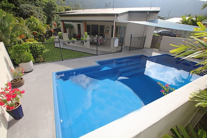Tropical private holiday house with pool - Jubilee Pocket - Dom