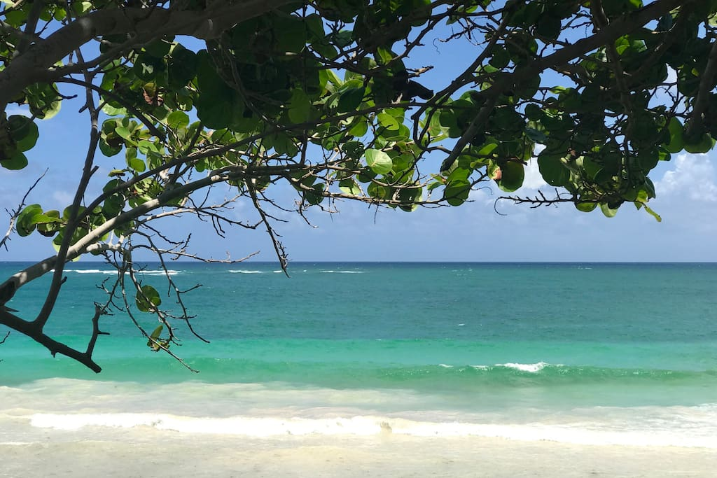 Only 5 min. away from this amazing beach