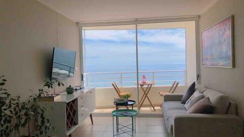 Hermoso departamento en edificio oceánica Resort