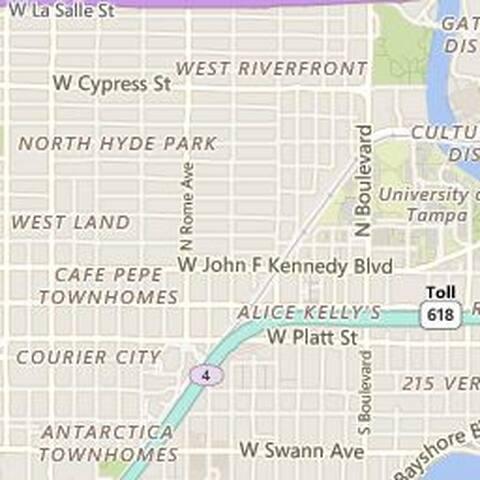 Hyde Park Village South Tampa Condo