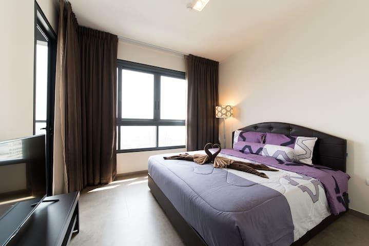 BEACHFRONT SEAVIEW/CITY VIEW 26th Floor 1 Bedroom - Pattaya-Naklua - Apartment